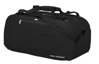 "High Sierra 30"" Pack-N-Go Duffel Black"
