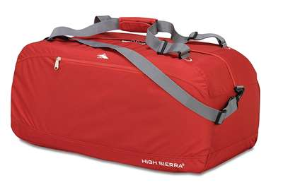 "High Sierra 36"" Pack-N-Go Duffel Red"