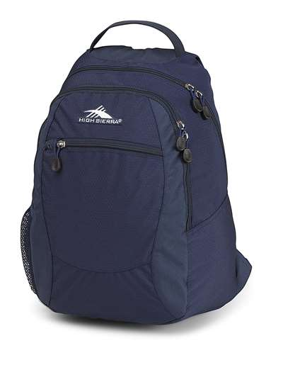 High Sierra Backpack Curve True Navy