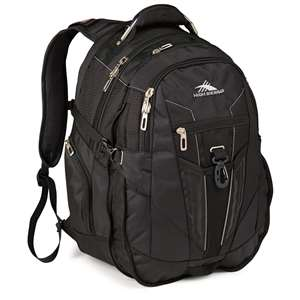 High Sierra Business Backpack Black