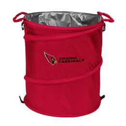 Arizona Cardinals  Collapsible 3-IN-1 Cooler Hamper Trash Can