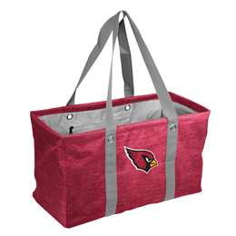 Arizona Cardinals Crosshatch Picnic Tailgate Caddy Tote Bag