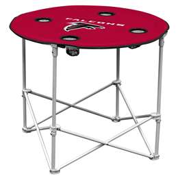 Atlanta Falcons Round Folding Table with Carry Bag