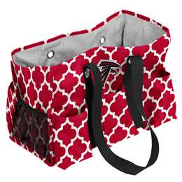Atlanta Falcons Quatrefoil Jr Caddy