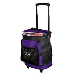 Baltimore Ravens 48 Can Rolling Cooler