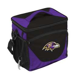 Baltimore Ravens 24 Can Cooler