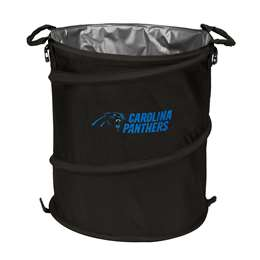 Carolina Panthers  Collapsible 3-IN-1 Cooler Hamper Trash Can