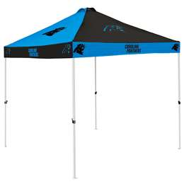 Carolina Panthers 9 X 9 Checkerboard Canopy - Tailgate Tent