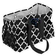 Carolina Panthers Quatrefoil Jr Caddy