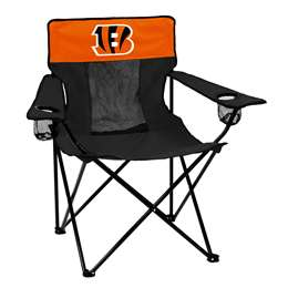 Cincinnati Bengals Elite Folding Chair with Carry Bag
