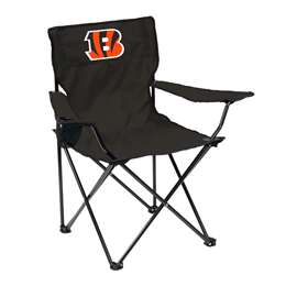 Cincinnati Bengals Quad Folding Chair with Carry Bag