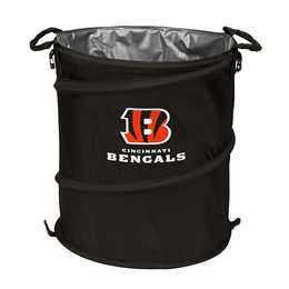 Cincinnati Bengals  Collapsible 3-IN-1 Cooler Hamper Trash Can