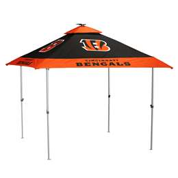 Cincinnati Bengals Pagoda 10 X 10 Canopy with Solar Light