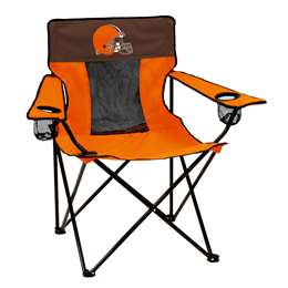 Cleveland Browns Elite Chair Folding Tailgate Camping Chairs