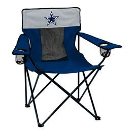 Dallas Cowboys Elite Folding Chair with Carry Bag