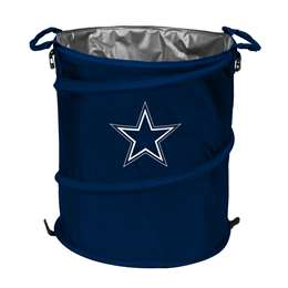 Dallas Cowboys  Collapsible 3-IN-1 Cooler Hamper Trash Can