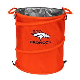 Denver Broncos  Collapsible 3-IN-1 Cooler Hamper Trash Can