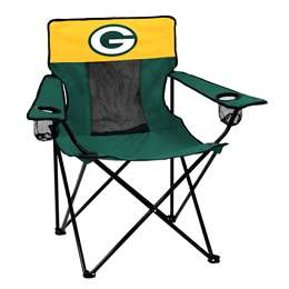 Green Bay Packers Elite Folding Chair with Carry Bag