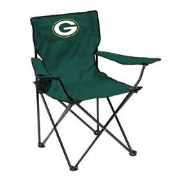 Green Bay Packers Quad Folding Chair with Carry Bag