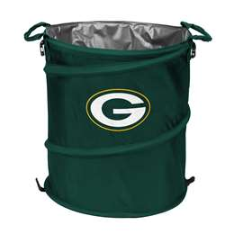 Green Bay Packers  Collapsible 3-IN-1 Cooler Hamper Trash Can