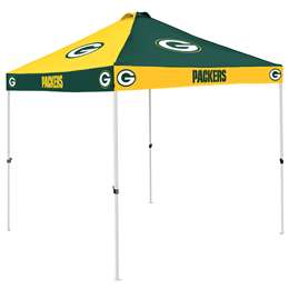 Green Bay Packers 9 X 9 Checkerboard Canopy - Tailgate Tent