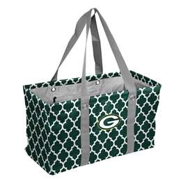 Green Bay Packers  Quatrefoil Picnic Cadddy Bag