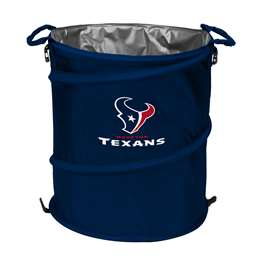 Houston Texans  Collapsible 3-IN-1 Cooler Hamper Trash Can