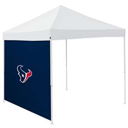 Houston Texans  Side Wall for 9 X 9 Canopy