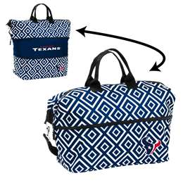 Houston Texans Double Diamond Expandable Tote
