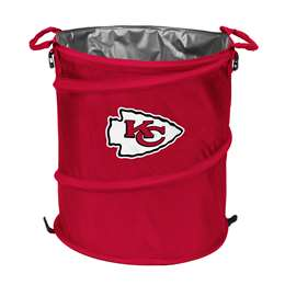Kansas City Chiefs  Collapsible 3-IN-1 Cooler Hamper Trash Can