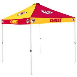 Kansas City Chiefs 9 X 9 Checkerboard Canopy - Tailgate Tent