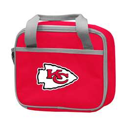 Kansas City Chiefs Red Lunch Box f/ Primary Logo 56LD - Rookie Cooler