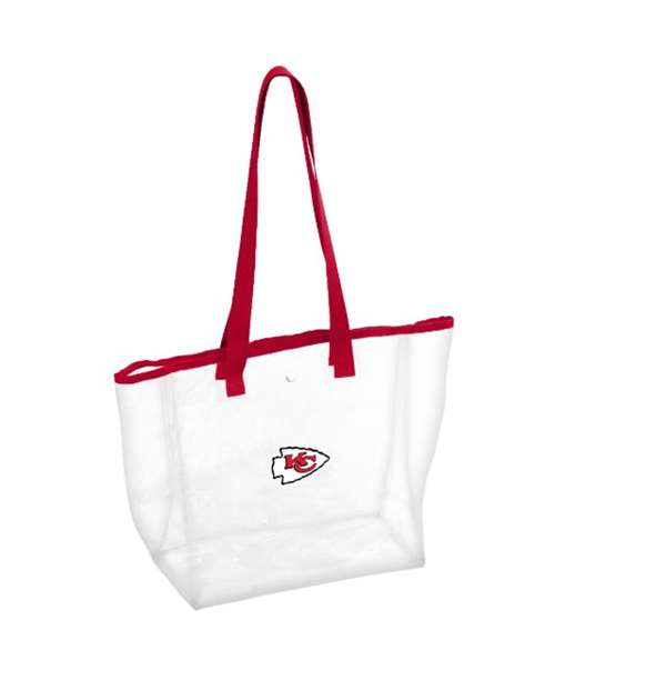 Kansas City Chiefs Clear Stadium Bag