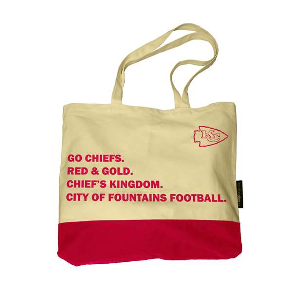 Kansas City Chiefs Favorite Things Tote 66F-Fav Things Tote