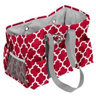 Kansas City Chiefs Quatrefoil Jr Caddy