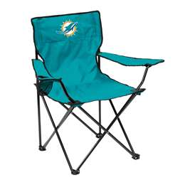 Miami Dolphins Quad Folding Chair with Carry Bag
