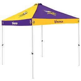 Minnesota Vikings 9 X 9 Checkerboard Canopy - Tailgate Tent
