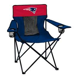 New England Patriots Elite Folding Chair with Carry Bag