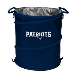 New England Patriots  Collapsible 3-IN-1 Cooler Hamper Trash Can