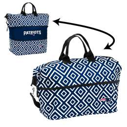 New England Patriots Double Diamond Expandable Tote