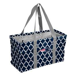 New England Patriots  Quatrefoil Picnic Cadddy Bag