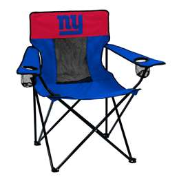 New York Giants Elite Folding Chair with Carry Bag