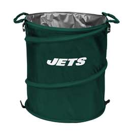New York Jets  Collapsible 3-IN-1 Cooler Hamper Trash Can