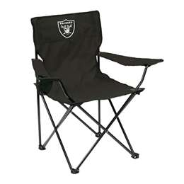 Oakland Raiders Quad Folding Chair with Carry Bag