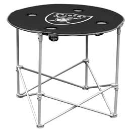 Oakland Raiders  Round Folding Tailgate Table