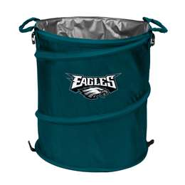 Philadelphia Eagles  Collapsible 3-IN-1 Cooler Hamper Trash Can