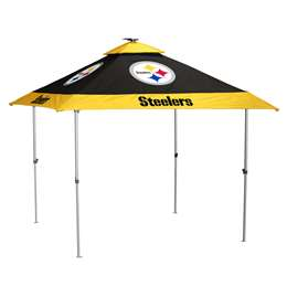 Pittsburgh Steelers 10 X 10 Pagoda Canopy Tailgate Tent