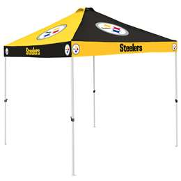 Pittsburgh Steelers 9 X 9 Checkerboard Canopy - Tailgate Tent
