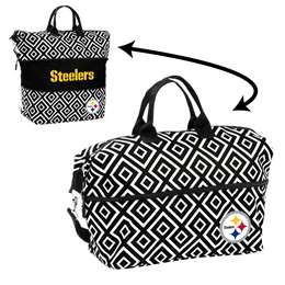 Pittsburgh Steelers Double Diamond Expandable Tote
