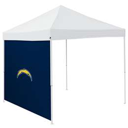 San Diego Chargers  Side Wall for 9 X 9 Canopy